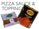 PIZZA SAUCE/TOPPINGS