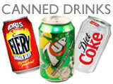 DRINKS CANNED