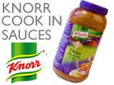 KNORR COOK IN SAUCES