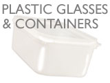 PLASTIC GLASSES & CONTAINERS