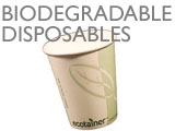 BIODEGRADEABLE DISPOSEABLES