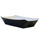 PAPER MEAL TRAY LARGE BLACK x 500